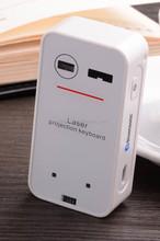 DIHAO wholesale wireless Laser virtual external keyboard for mobile phone
