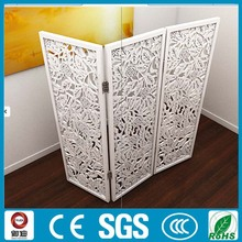 interal privacy laser cut folded metal dividing room screens