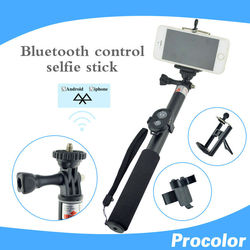 for photo wireless selfie stick Automatic Roller camera dslr monopod Self-bar phone