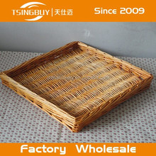 High quality wholesale 100% natural craft decoration storage sliding wicker basket drawers