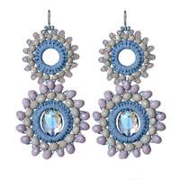 New Fashion Design Trendy Stylish Fancy Artificial Jewellery Lady Handmade Earrings