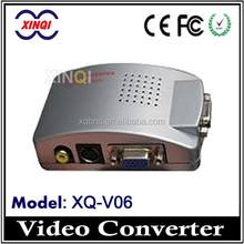 Wholesale CCTV Accessories Video Converter AV To VGA Adapter