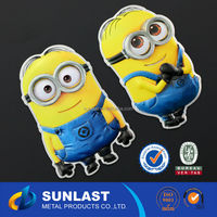 Sunlast Car Logo Emblem Sticker Metal Aluminum Car Sticker OEM6025