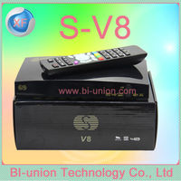 New model dvb-s2 set top box S V8 HD Very Stable CCCAM+NEWCAM+MGCAM for ireland .UK