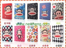 Monkey Cartoon Flip Stand Leather Case For Ipad Air 2