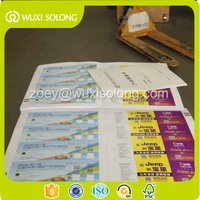 Event ticket with perforation for concert/ game / entrance in high quality