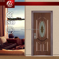 Timely Prefinished Steel Door used exterior