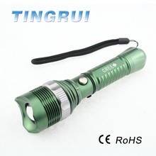 3W 200 Lumen Portable Aluminium Rechargeable Led Flashlight