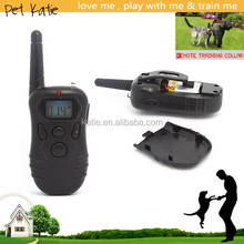 OEM Rechargeable Remote Dog Shock Collar Waterproof Vibrate Adjustable