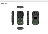 custom small feature no touch screen rugged phone DK10