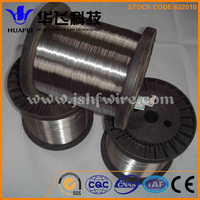 Supply of non-magnetic bright 316L stainless steel wire 0.3mm