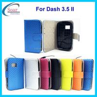 For Blu dash 3.5 II flip cover case,straw mat pattern wallet case for Blu dash 3.5 II,mobile phone case for Blu dash 3.5 II