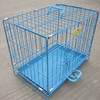 Wire Folding Two Door Dog Cage Factory