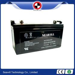 Sealed lead acid SLA battery solar battery 12v 120Ah for solar street light