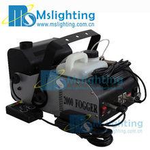 2000 w mini máquina de humo rápido de precalentamiento tiempo 8 min