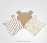 bear printed cute Comfortable Baby hat