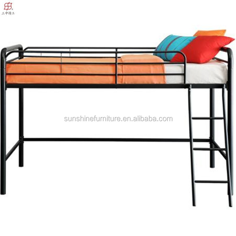 Metal loft bed with slide - Hot Sale Chinese Cheap Metal Kids Loft Bed With Slide