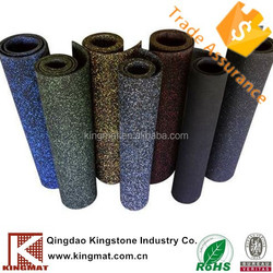 anti-slip, anti-fatigue kitchen workshop EPDM rubber gym flooring