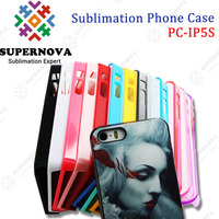 Printable Hard PC Case for iPhone5S with Aluminum Sheet
