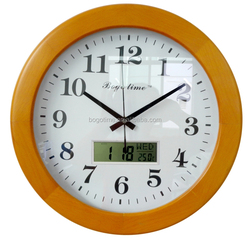 radio controlled automatic calendar clock