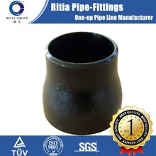 Seamless steel a234 wpb ms pipe reducer
