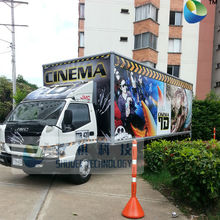 Popular Truck Mobile 7d Cinema Equipment Can Move Anywhere