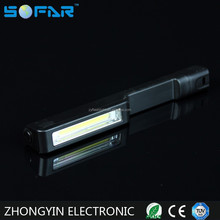 Plastic Portable Pen Shape LED Work Light Bar Torch 3*AAA LED Working Torch Light