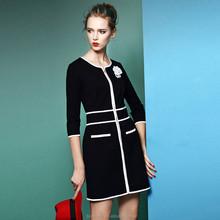 Sexy women lady office career daily wear dress design