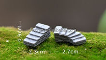 Moss micro landscape furnishing articles resin handicraft small ladder/stair/step necessary for succulent plants