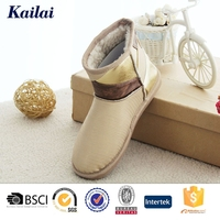 Cool rubber sole snow walking boots shoes