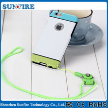Cell phone case neck strap, for iphone neck strap case, neck strap case for iphone 6 plus