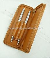leather pecnil case pen holder leather sheath 3000pcs/lot