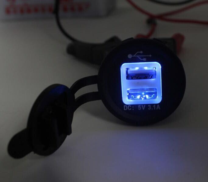 Car Cigarette Lighter Socket 12v Power Outlet With Cap