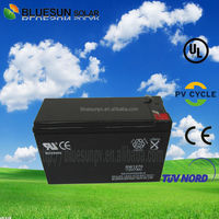 12V 7AH AGM/GEL high efficiency 10hr and 20hr ups battery for computer