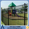 Good-quality Steel Fence Wholesale/Red Temporary Safety Fence For Road/Decorative Picket Fence For Sale