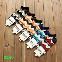 2015 hot sale mens 100% cotton socks brand name socks with various colors to choose