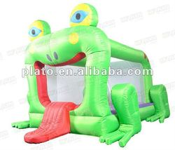 2012 Inflatable frog Bouncer House