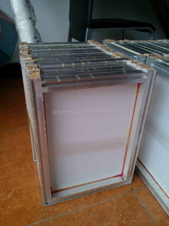 how to make aluminum silk screen frame