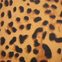 Good fake animal leopard leather for bag