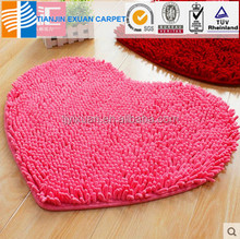 luxury soft microfiber chenille carpet mat