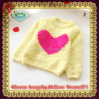 latest design Girls pleuche thickening sweater explodes model for winter