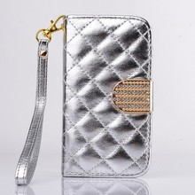 Hot Sale Leather Wallet Flip Stand Smart Phone Case Stand Fancy Cover For Samsung Galaxy S4 Mini I9190