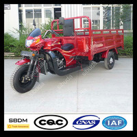 SBDM Gasoline Engine Cargo Motorized Tricycle in India