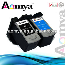 Aomya, Compatible for Canon PG40 PG-40 Ink cartridge for Canon PIXMA iP1180/iP1200/iP1300/iP1600/iP1700