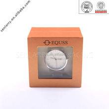 high end special design personalized single watch display box with pillow