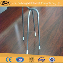 cheap plastic tipped steel bar chair with low price of hebei