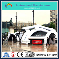 giant outdoor inflatable tent for event/big inflatable tent for advertising