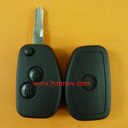 High Quality&Best Price Renault 2 button modified flip remote key blank No logo