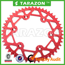 High quality and hot sale TARAZON made aluminum sprocket for dirt bike