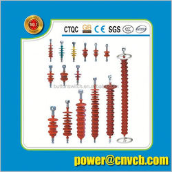 25kV high voltage composite insulator for railway phenolic laminated electrical conductor